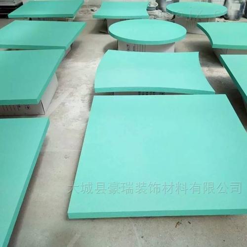 岩棉聚酯纤维吸音板具有阻燃性